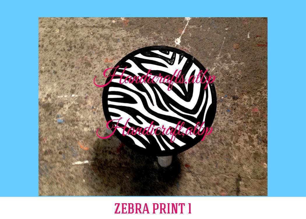 Zebra Print 1 Handicrafts Atbp